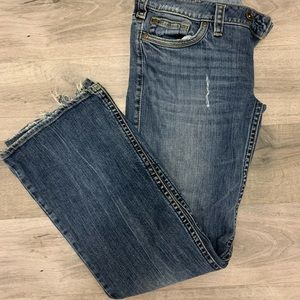 Silver Tuesday Jeans 32/33 cotton and spandex GUC